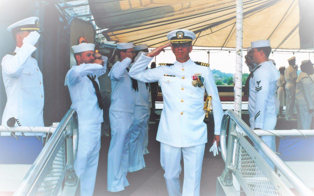 Bruce Campbell, Captain USNR (ret.)