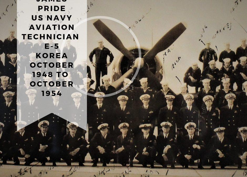 Korean War Aviation Technician James Pride