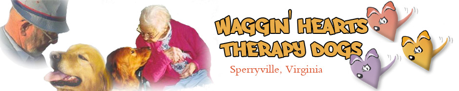 Waggin Hearts Therapy Dogs