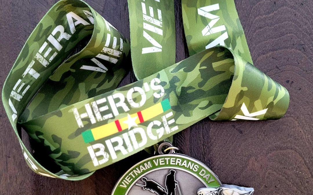 Running for Heroes March Marathon for Vietnam Veterans